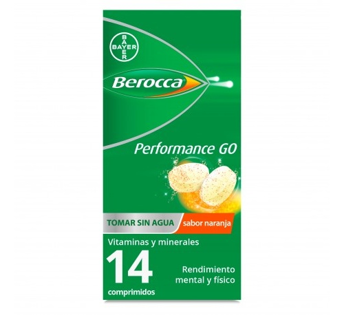 Berocca performance go (14 comprimidos)