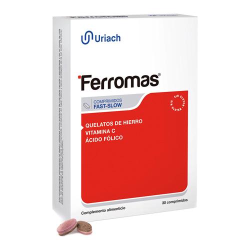 Ferromas (30 comprimidos fast slow)