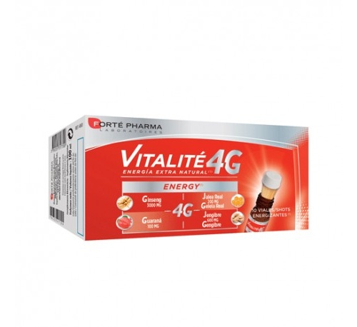 Energy vitalite 4g (10 viales)