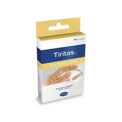 Tiritas aposito adhesivo (dedos 4 tamaños 16 u)
