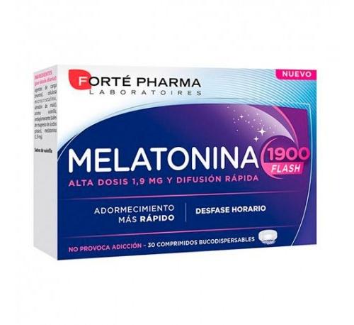 Melatonina flash 1900 (30 comprimidos bucodispersables)