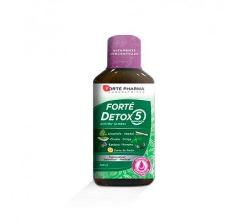 Forte detox 5 organos (500 ml)