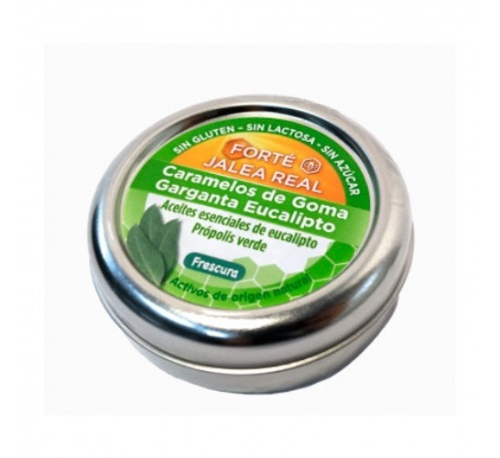 Forte jalea real caramelos goma garganta (eucalipto 45 g)