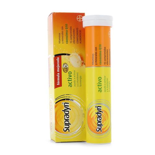 Supradyn activo (15 comprimidos efervescentes)