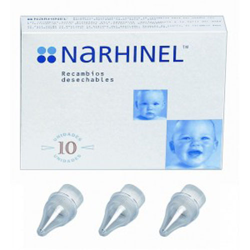 Narhinel aspirador nasal recambio (10 deshechables)