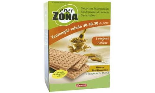 Enerzona tentempie salado (25 g 7 u minipack receta mediterranea)