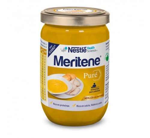Resource pure (300 g merluza con bechamel)