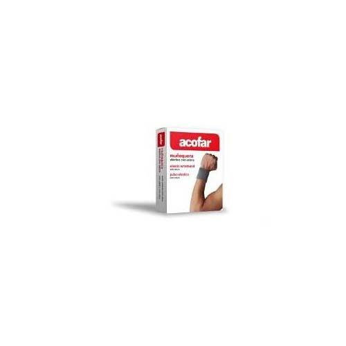 Muñequera elastica velcro acofar (blanco t- gde)