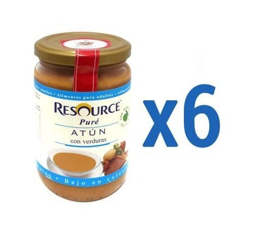 Resource pure (300 g atun con verduras)
