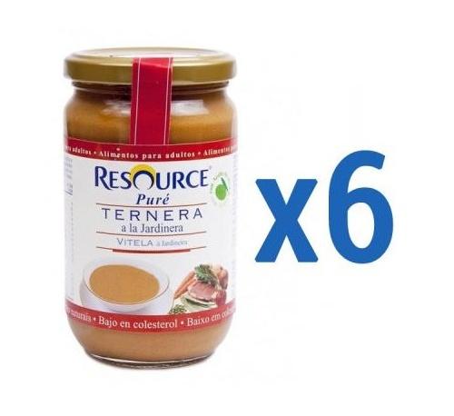 Resource pure (300 g ternera a la jardinera)