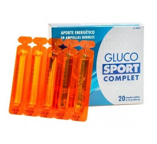 Glucosport complet (20 ampollas bebibles)