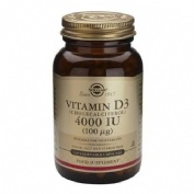 Solgar vitamina d-3 50 caps