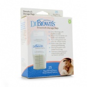 Dr brown´s bolsas para almacenar leche materna (25 u)