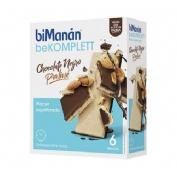 Bimanan bekomplett snack barquillo (chocolate negro-praline 6 u x 20 g)