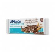 Bimanan bekomplett snack barrita cereales (chocolate con leche 20 u x 20 g)