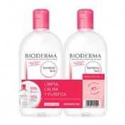 Bioderma sensibio h2o 500ml+500ml