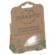 Para`kito pulsera repelente insectos (recambio 2 pastillas)