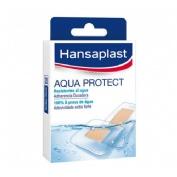 Hansaplast aqua protect - aposito adhesivo (surtido 20 u)