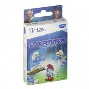 Tiritas aposito adhesivo (pitufos 3 tamaños 14 tiritas)