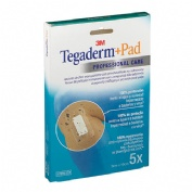 Tegaderm + pad - aposito esteril (10 x 9 cm 5 u)
