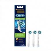 Cepillo dental electrico recambio - oral-b cross action eb50rb (3 cabezales)