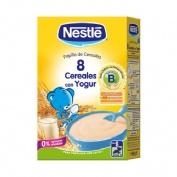 Nestle papilla 8 cereales con yogur (600 g)