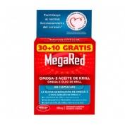 Megared 500 omega 3 aceite de krill (30 capsulasulas + 10 capsulas)