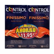 Control finissimo - preservativos (12 u (2 50%))