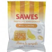 Sawes caramelos bolsa sin azucar (bolsa miel con limon 50 g)