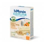 Bimanan barrita copos de avena y quinoa (yogur con albaricoque 6 u)