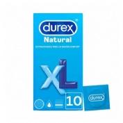 Durex natural xl - preservativos (12 unidades)