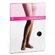 Media larga (a-f) comp normal - farmalastic blonda (negra t- egde)