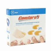 Separadedos - comforsil silicona (extrafino t- med 3 u)