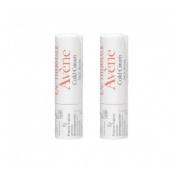 Avene cold cream stick labial nutritivo (pack duo 2 x 4 g)