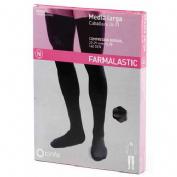 Media caballero larga (a-f) comp normal - farmalastic silicona (t- med 2 u)