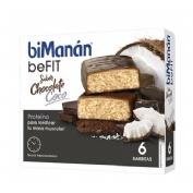 Bimanan befit proteina barritas (chocolate coco 6 barritas x 27 g)