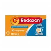 Redoxon extra defensas vitamina c + zinc (naranja 30 comprimidos efervescentes)