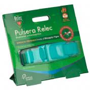 Relec pulsera antimosquitos repelente (color turquesa)