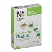 Ns digestconfort gases (60 comprimidos)