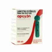 Aposan lancetas (100 u)