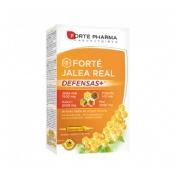 Forte jalea real defensas+ (20 ampollas x 15 ml)