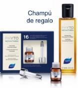 Phyto novathrix  caida global 12 ampollas+REGALO CHAMPÚ