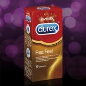 DUREX REAL FEEL PRESERVATIVO SIN LATEX (12 U)