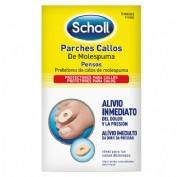 DR SCHOLL PARCHES CALLOS MOLESPUMA (ESCUDO)