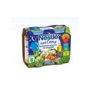 Nestle peque cena crema de verduras y lenguado (200 g 2 u)