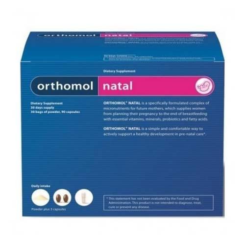 Orthomol natal (30 sobres + 90 capsulas)