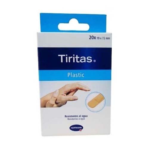 Tiritas plastic - aposito adhesivo (19 x 72 20 u)
