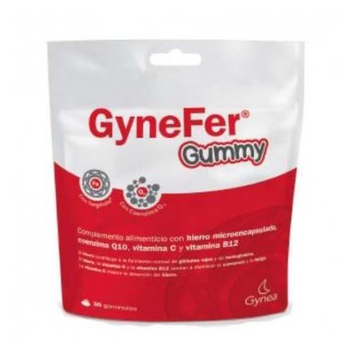 Gynefer gummy (frambuesa 30 gomas masticables)