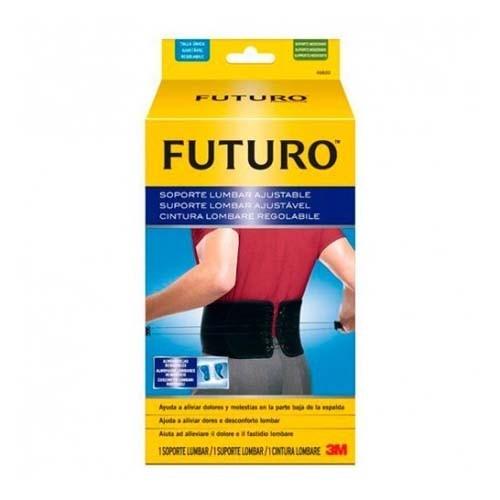 3m futuro - soporte lumbar ajustable (1 u)