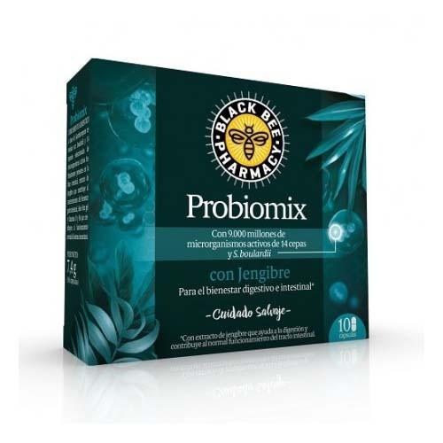 Black bee pharmacy probiomix con jengibre (10 capsulas)